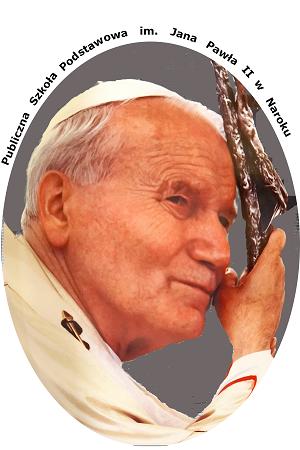 logo Publicznej Szkoły Podstawowej im. Jana Pawła II w Naroku